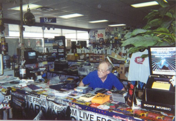 Bill Wisener, owner of Bill's Records