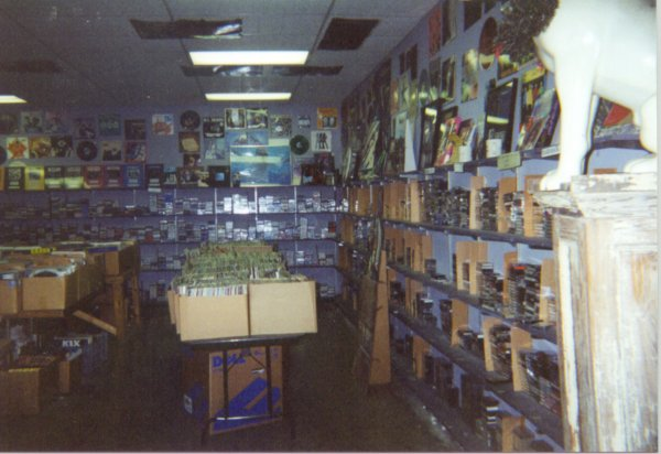 CDs along the right wall. Videos in the back.