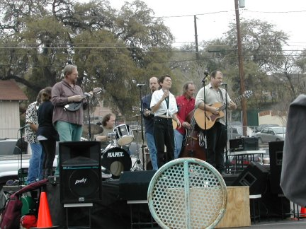 Blues band that preceded Johnny - Picture 1