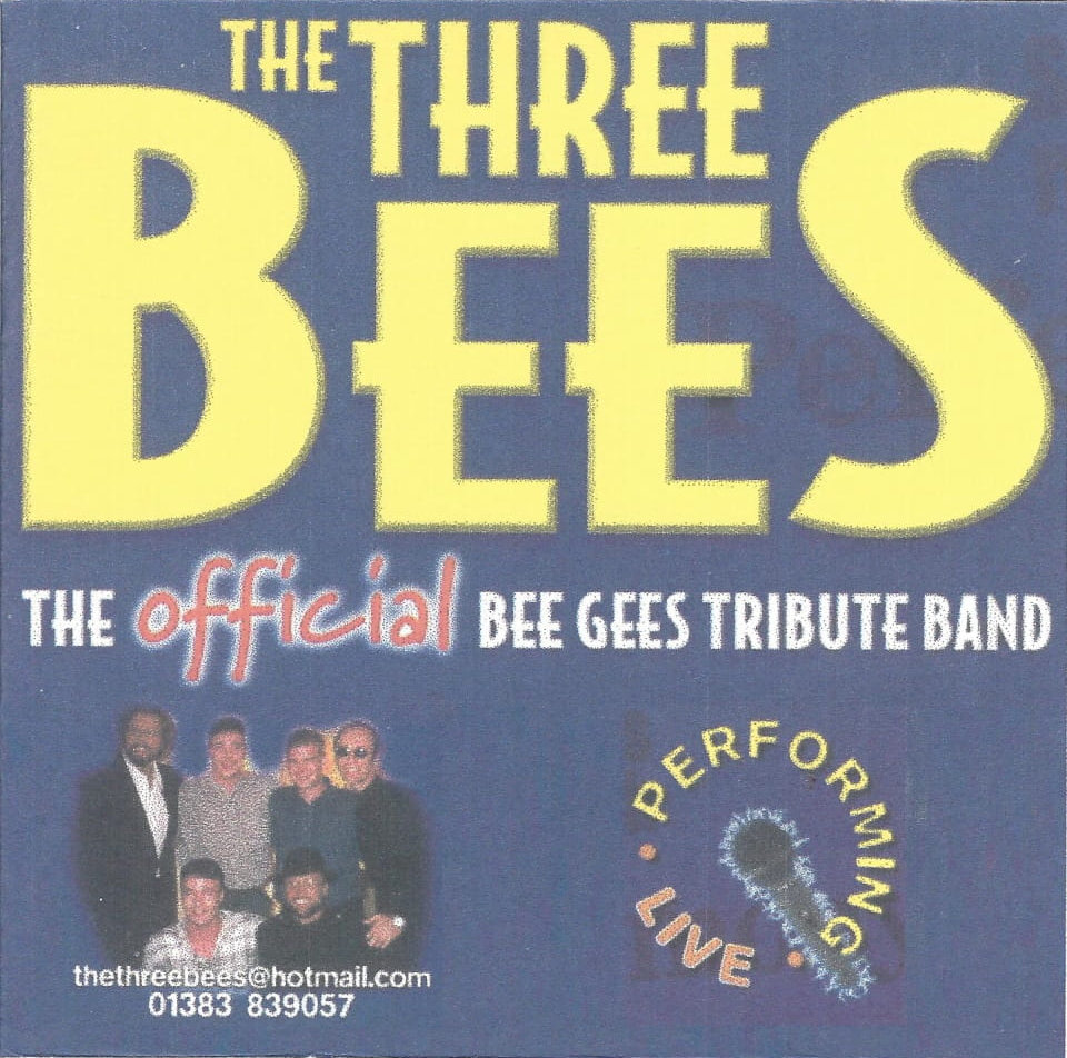 Picture of The Three Bees, a Bee Gees tribute band
