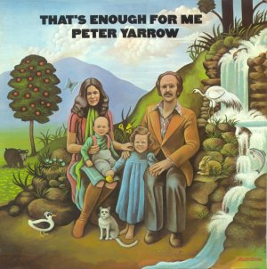 Peter Yarrow - That's Enough For Me, album cover