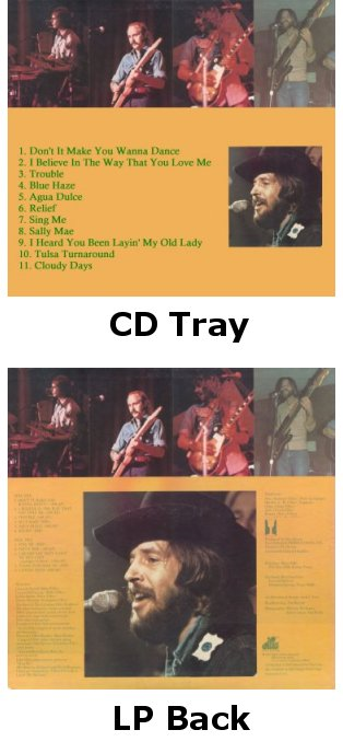 Rusty Wier - Don't It Make You Wanna Dance, CD and LP album back images