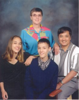 Picture of the Wong family