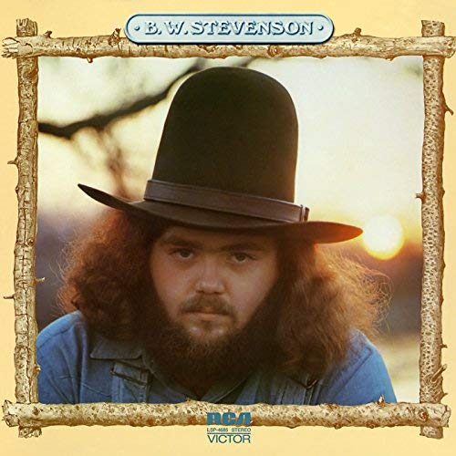 B. W. Stevenson self-titled album cover image